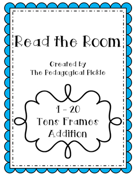 Read the Room -- Tens Frame Addition