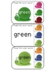 Read the color word clothespin activity cards
