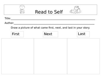 Read to Self, Sequencing