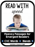 Fluency Passages for Beginning Readers (CVC and BLENDS)