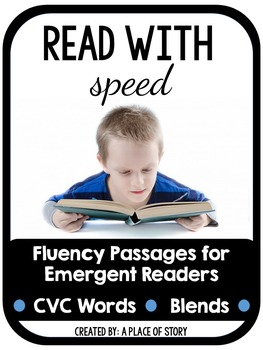 Fluency Passages for Beginning Readers (CVC and BLENDS)