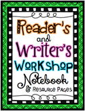 Reader and Writer's Workshop Resources