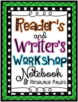 Reader and Writer's Workshop Resources