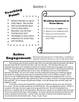 Reader's Notebook: 4th Grade
