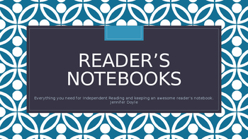 Reader's Notebooks