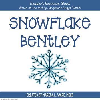 Reader's Response Sheet for Snowflake Bentley