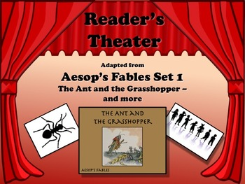 Reader's Theater Aesop's Fables Set 1 - THE ANT AND THE GR