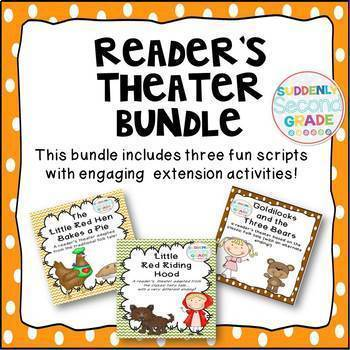 Reader's Theater Bundle- 3 Fun Scripts for Fluency Practice!