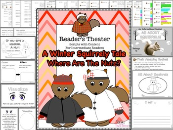 Reader's Theater Script: A Squirly Winter Story, Reading &