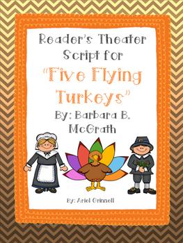 "Reader's Theater Script for ""Five Flying Turkeys"" by Barba"