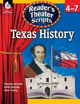 Reader's Theater Scripts--Texas History (eBook)