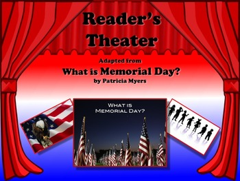 Reader's Theater WHAT IS MEMORIAL DAY? Non-Fiction - Also