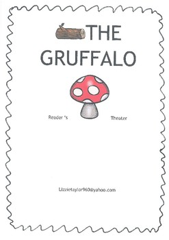 (Freebie)Reader's Theater for the book 'The Gruffalo' by J