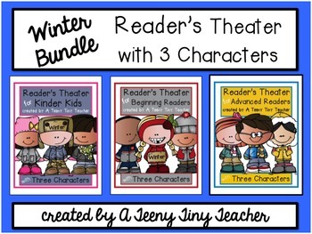 Reader's Theater with 3 Characters {Winter Bundle}