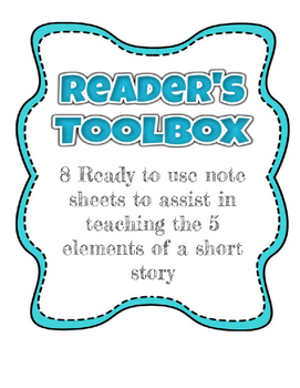 Reader's Toolbox - Fiction