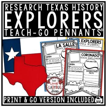 Texas Explorers Flip Book - La Salle, Coronado & Explorers