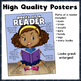 "Readers Poster Package - ""Parts of a Reader"" and ""A Good Reader"""