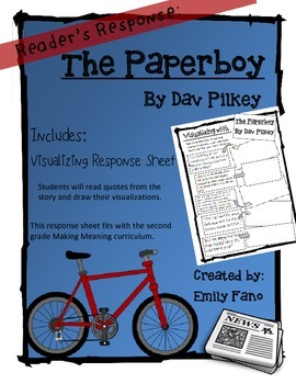 Making Meaning 2nd Grade: The Paperboy with Visualizing Re