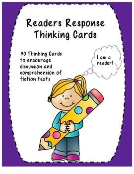 Reader's Response Thinking Cards