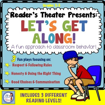 Reader's Theater: Behavior & Back to School! (differentiat