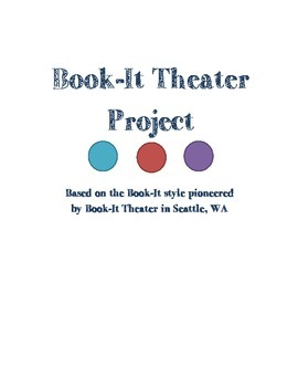 Reader's Theater / Book-It Theater Unit or Project for Literature