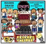 Readers Theater Clip Art Bundle