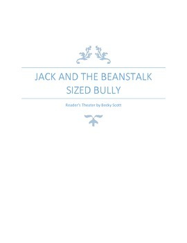 Back to School Reader's Theater: Jack and the Beanstalk Si