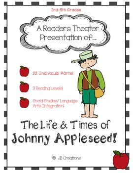 Reader's Theater: Johnny Appleseed (leveled play for 3rd,