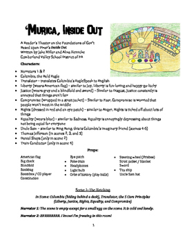 Reader's Theater Play - 'Murica, Inside Out (Foundations o