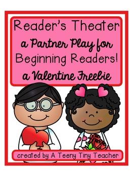 Reader's Theater -  A Partner Play for Beginning Readers {