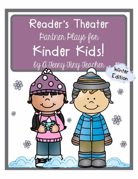 Reader's Theater - Partner Plays for Kinder Kids! {Winter