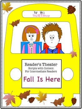 "Reader's Theater Script: ""Fall Is Here"" , Autumn, Reading"