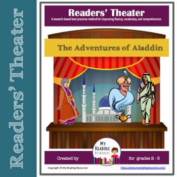Readers' Theater Script:  The Adventures of Aladdin by the