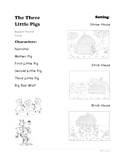 Readers Theater Script of The Three Little Pigs - 1st Grade