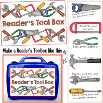 Reader's Tool Box of Reading Strategies!