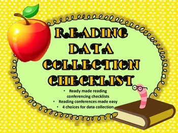 Reader's Workshop Data Collection...(C.A.F.E Inspired)
