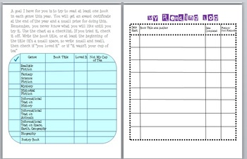 Readers' Workshop Notebook (Just bind the pages)
