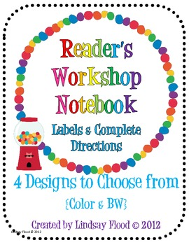 Reader's Workshop Notebook {Using a Composition Notebook}