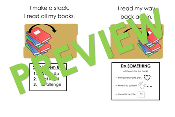 Readers Workshop Reading Mats (Kindergarten and 1st Grade)