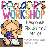 Reader's Workshop: Comprehension Graphic Organizers