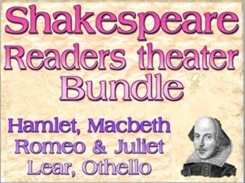 Bundle: Shakespeare readers theater