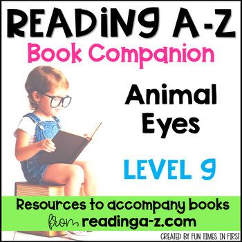 Reading A-Z Level G Companion~ Animal Eyes