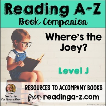 Reading A-Z Level J Companion~ Where's the Joey?