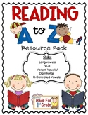 Reading A to Z Resource Pack {Long Vowels}