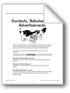Reading About Contests, Rebates, and Advertisements