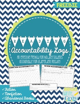 Reading Accountability Logs for Fiction & Nonfiction Books