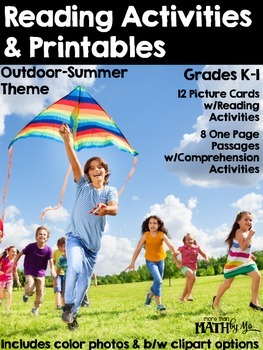 Reading Activities & Printables - Outdoor/Summer Theme {Re