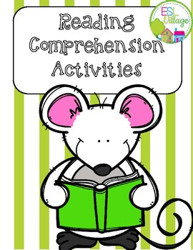 Free Reading Comprehension Activities {for any book or story}