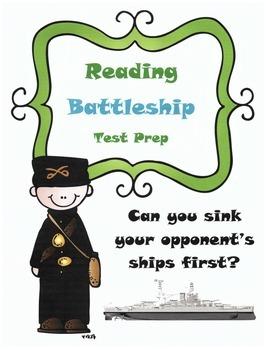 Reading Activity Test Prep Game: Battleship