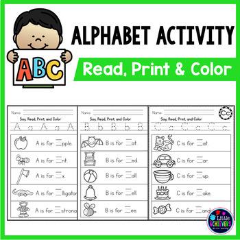 Alphabet Sentences for Letter Recognition and Fluency